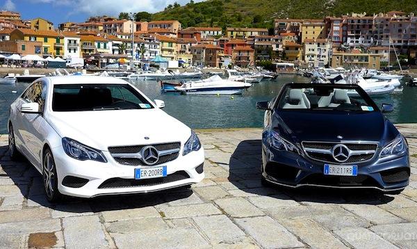 Mercedes E Class Italy July 2013. Picture courtesy of www.quattroruote.it