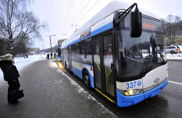 Tallinn Free Public Transport. Picture courtesy of directmatin.fr