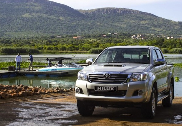 Toyota Hilux Gabon June 2013. Picture courtesy of saudishift.com