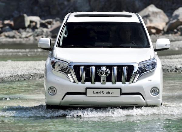 Toyota Prado Kuwait June 2013