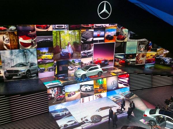 3 Mercedes building Frankfurt Auto Show September 2013