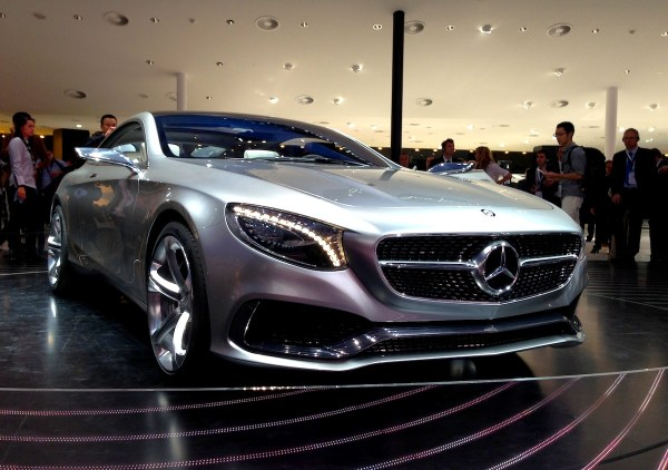6 Mercedes S Coupe Concept Frankfurt Auto Show September 2013