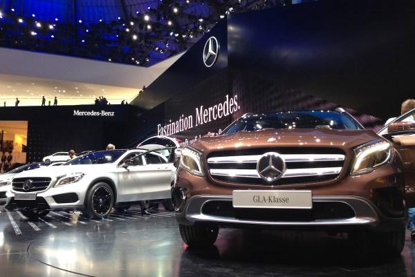 8 Mercedes GLA Class Frankfurt Auto Show September 2013