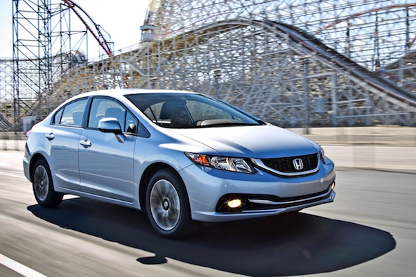 Honda Civic Canada August 2013. Picture courtesy of motortrend.com