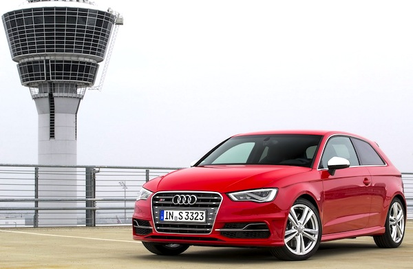 Audi A3 World August 2013. Picture courtesy of largus.fr