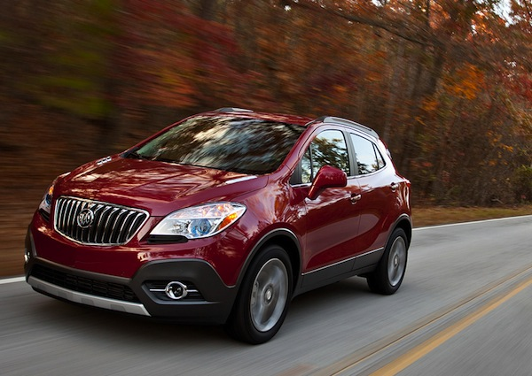 Buick Encore USA September 2013. Picture courtesy of motortrend.com