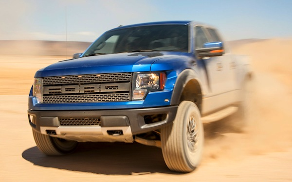Ford F150 SVT Raptor Oman April 2014. Picture courtesy of motortrend.com