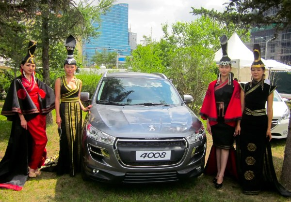 Peugeot 4008 Mongolia Launch