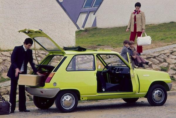 Renault 5 Europe 1980