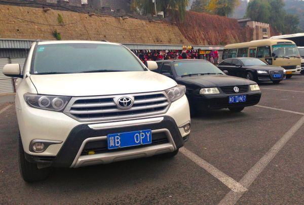 7 Toyota Highlander VW Santana