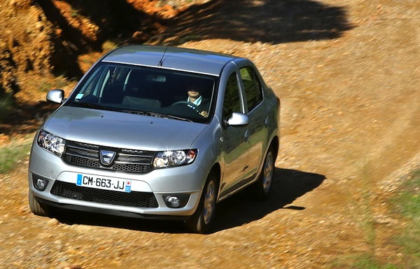Dacia Logan Algeria 2015. Picture courtesy of largus.fr