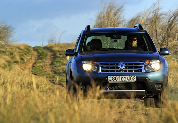 Renault Duster Kazakhstan April 2015. Picture courtesy of Ilva Davidovich idphoto.kz copy