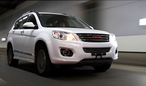 Haval H6 China May 2014. Picture courtesy of auto.sohu.com