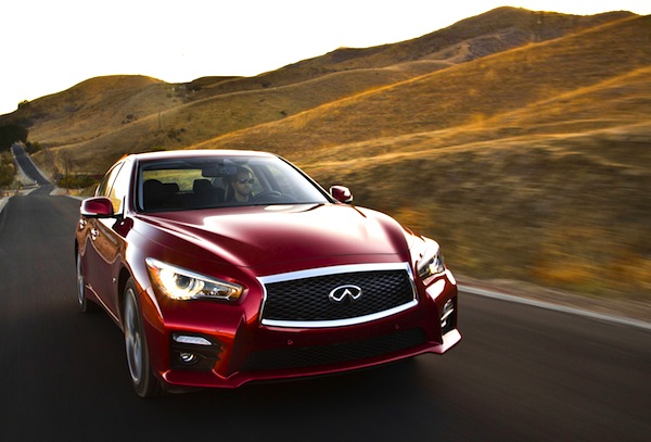 Infiniti Q50 USA November 2013. Picture courtesy of motortrend.com