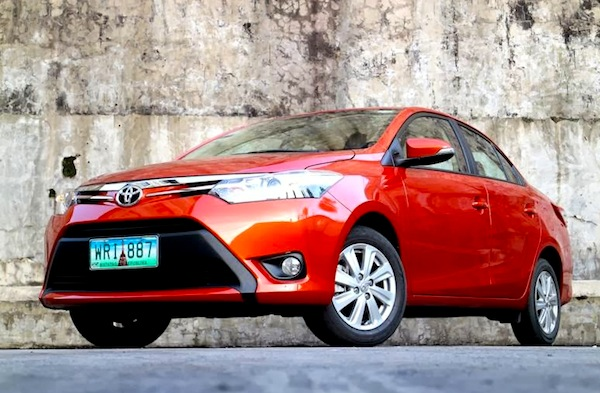 Toyota Vios Philippines November 2013. Picture courtesy of carguide.ph