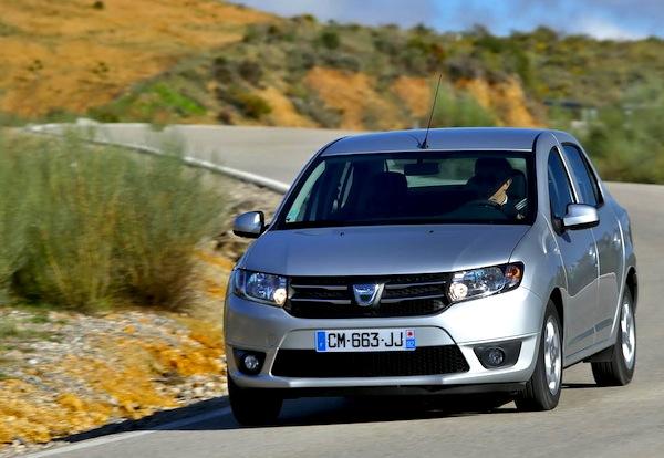 Dacia Logan Algeria June 2014. Picture courtesy of largus.fr