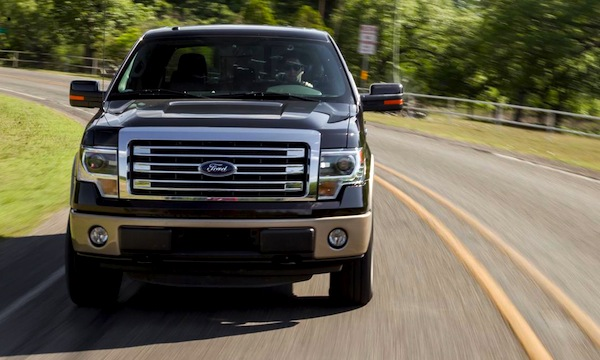 Ford F-Series USA 2013. Picture courtesy of caranddriver.com