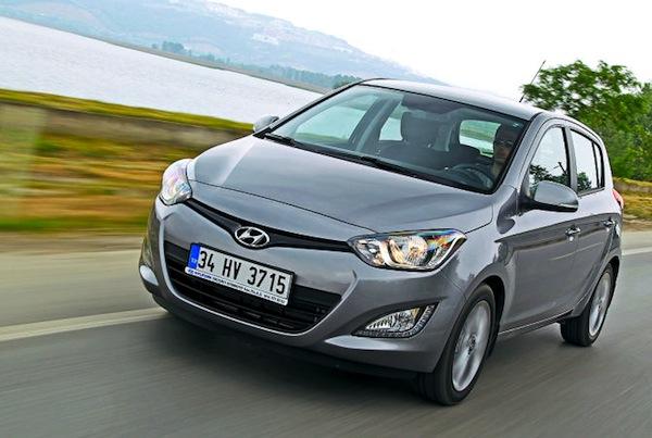 Hyundai i20 Greece June 2014. Picture courtesy of autobild.de