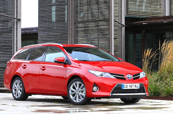 Toyota Auris Sweden March 2015. Picture courtesy of largus.fr