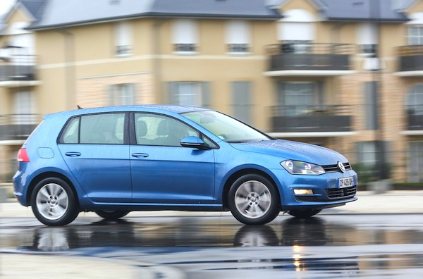 VW Golf Finland June 2014. Picture courtesy of largus.fr
