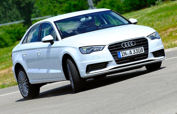 Audi A3 UK September 2015. Picture courtesy of autobild.de
