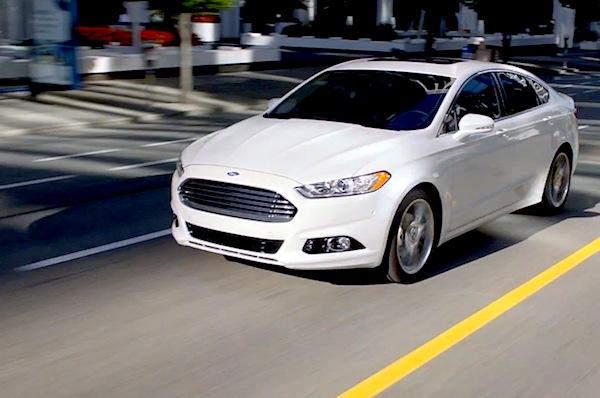 Ford Fusion USA February 2014
