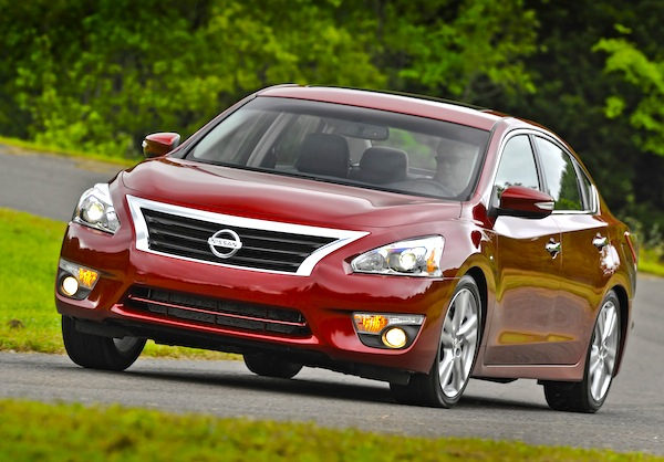 Nissan Altima USA February 2014