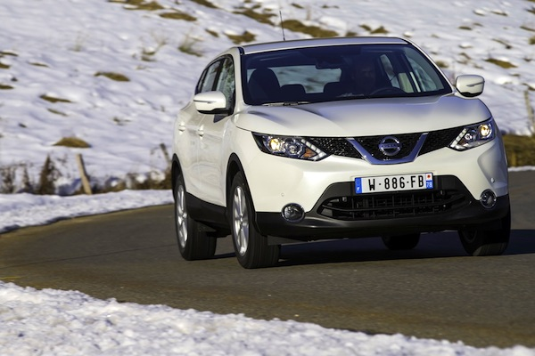 Nissan Qashqai Iceland February 2014. Picture courtesy of largus.fr