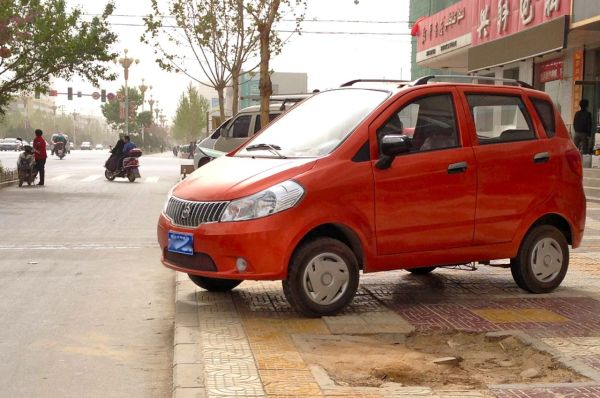 9. Unknown Chinese car (W8)