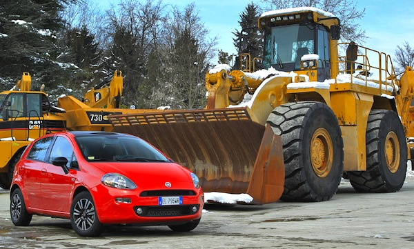 Fiat Punto Italy 2015. Picture courtesy of largus.fr