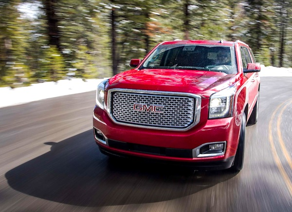 GMC Yukon USA April 2014. Picture courtesy of motortrend.com