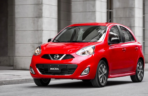Nissan Micra Canada March 2015