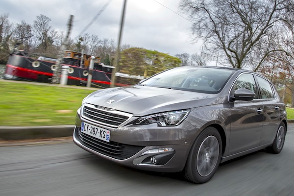 Peugeot 308 Europe 2015. Picture courtesy of largus.fr