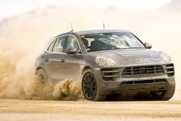 Porsche Macan World 2014. Picture courtesy of largus.fr
