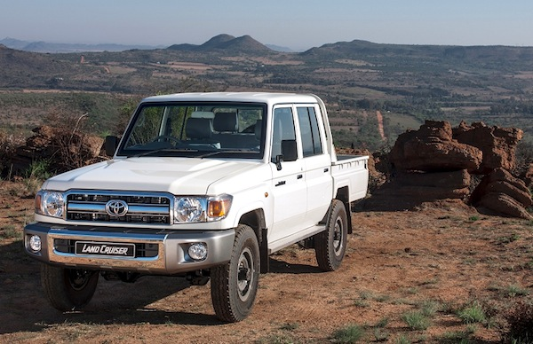 Updated Toyota Land Cruiser Series