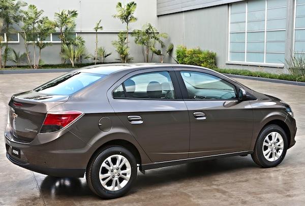 Chevrolet Prisma Brazil June 2014