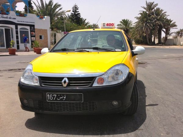 7. Renault Symbol Taxi Djerba July 2014