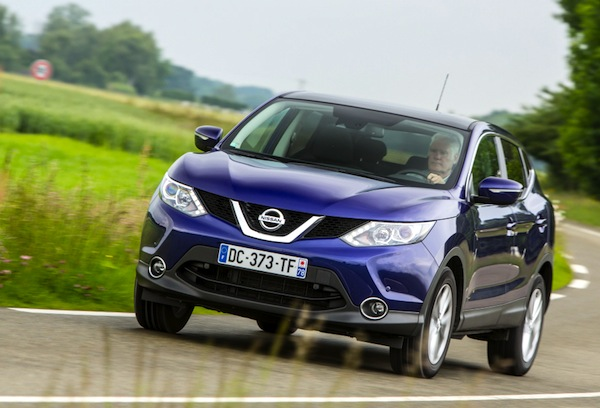 Nissan Qashqai Greece May 2015. Picture courtesy of largus.fr