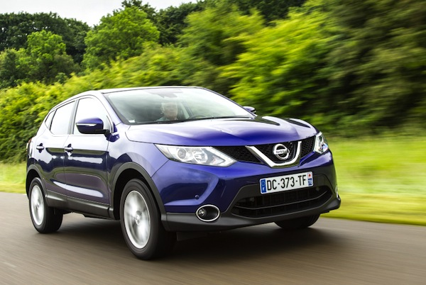 Nissan Qashqai Croatia September 2014. Picture courtesy of largus,fr