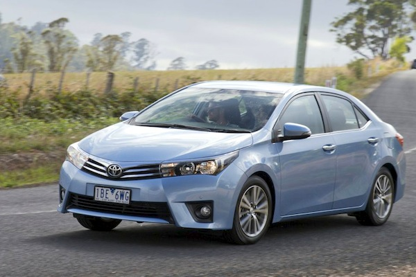 Toyota Corolla New Zealand October 2014. Picture courtesy of caradvice.com.au