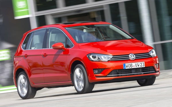 VW Golf Sportsvan Slovenia 2014. Picture courtesy of automibile-magazine.fr
