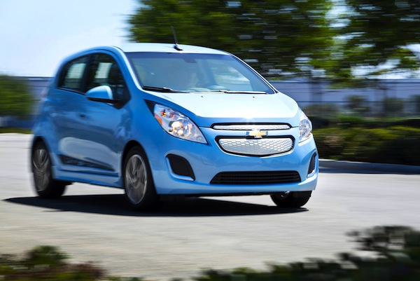 Chevrolet Spark Mexico September 2014. Picture courtesy of motortrend.com