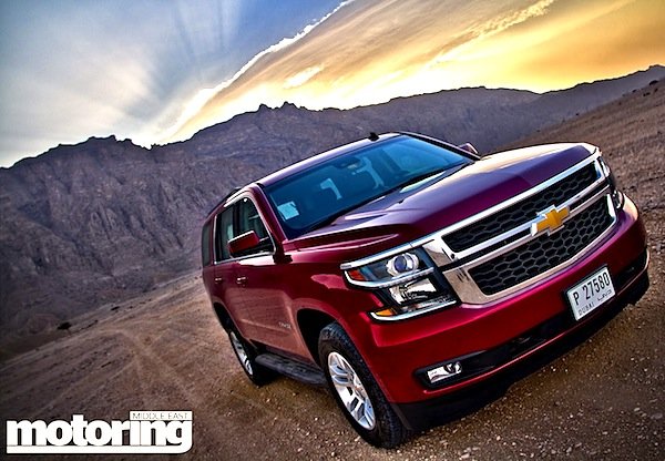 Chevrolet Tahoe Saudi Arabia August 2014. Picture courtesy of motoringme.com
