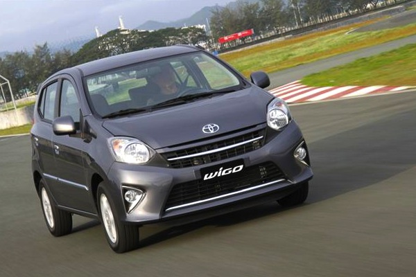 Toyota Wigo Philippines August 2014. Picture courtesy of livelifedrive.com