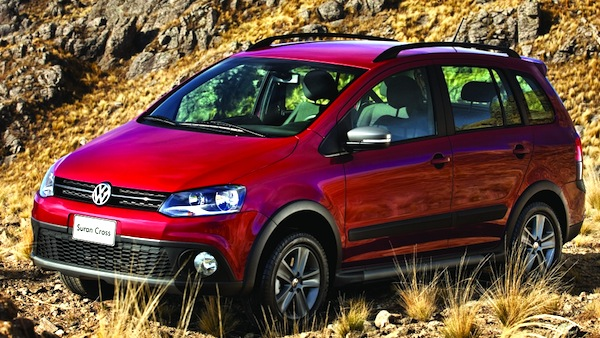 VW Suran Cross Argentina September 2014. Picture courtesy of autoblog.com.uy