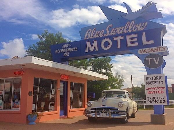 25. Blue Swallow Motel Tucumcari NM