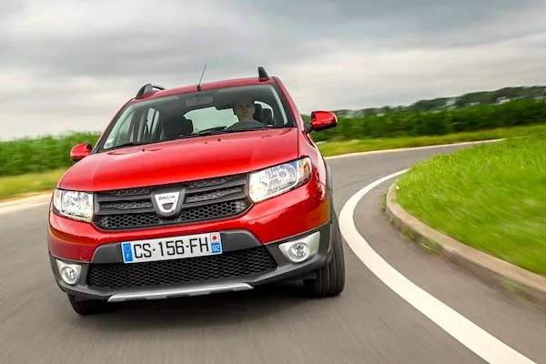 Dacia Sandero Bulgaria April 2015. Picture courtesy of largus.fr