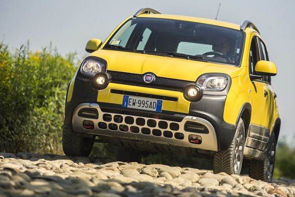 Fiat Panda Czech Republic January 2015. Picture courtesy of largus,fr