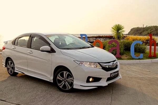 Honda City Vietnam September 2014. Picture courtesy of carguide.ph