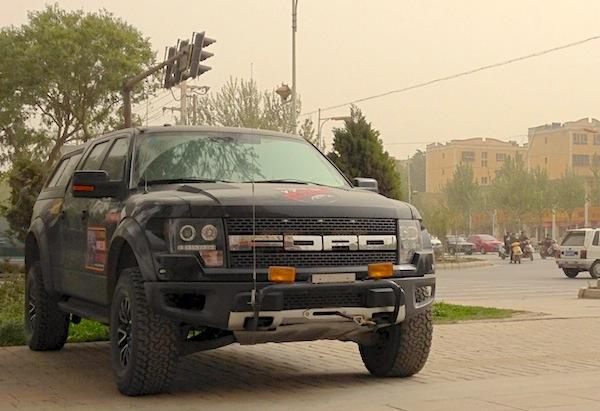 Ford F-150 Raptor Kashgar China